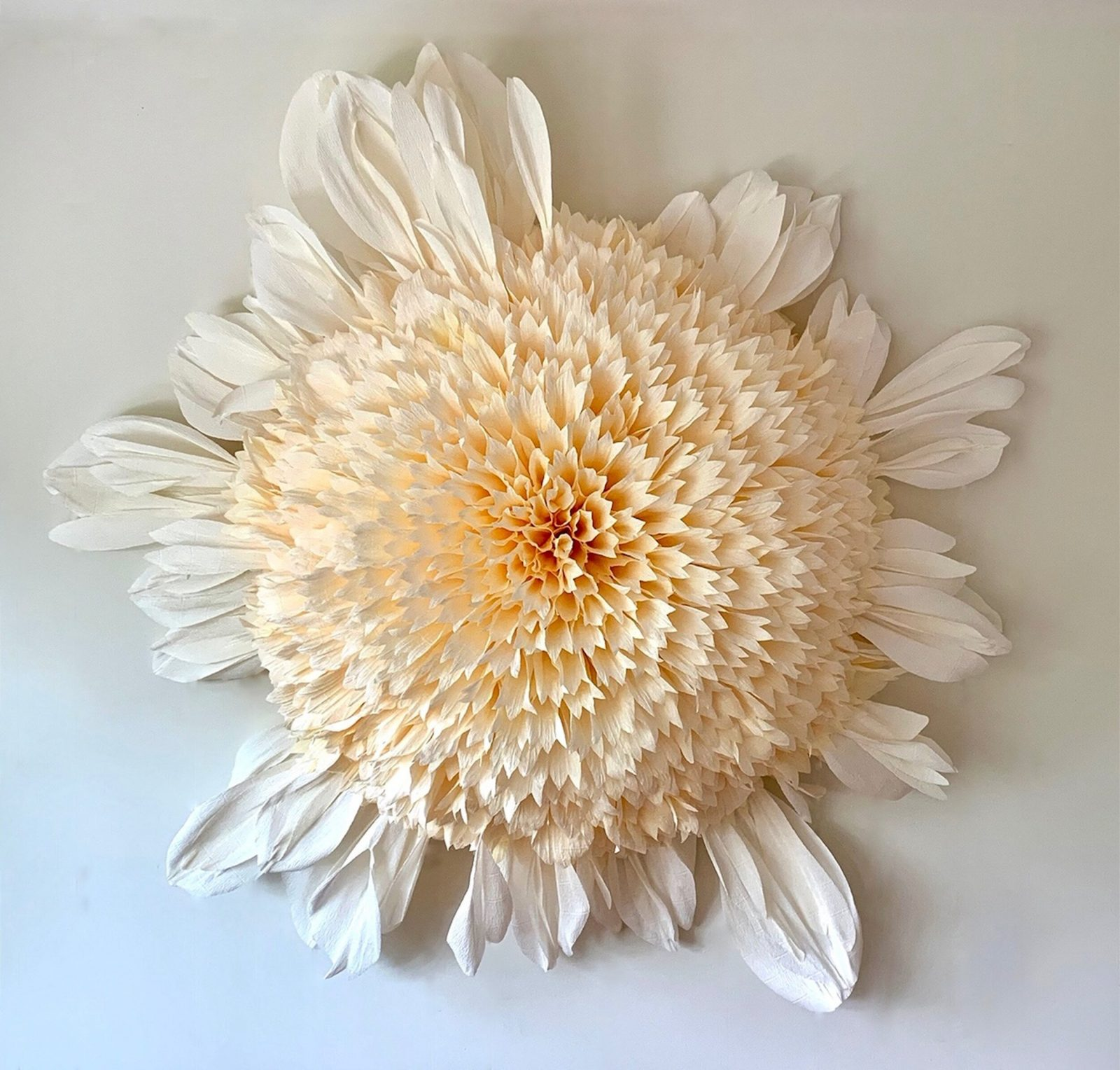 Hypnotizing Botanical Paper Sculptures by Tiffanie Turner