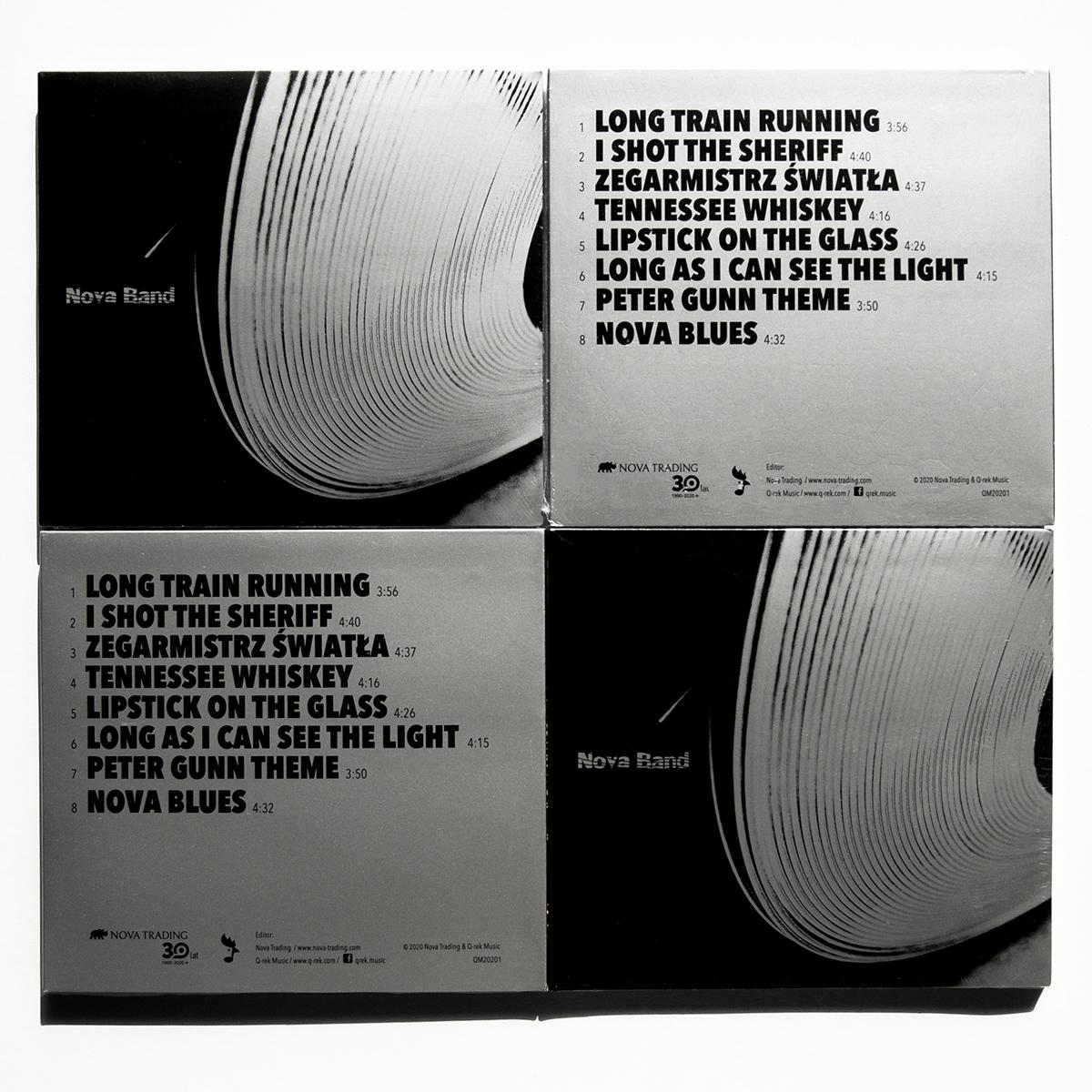 """Nova album titled """"1"""" designed by Jarosław Pawlicki printed on Bindakote Silver by Europapier"""