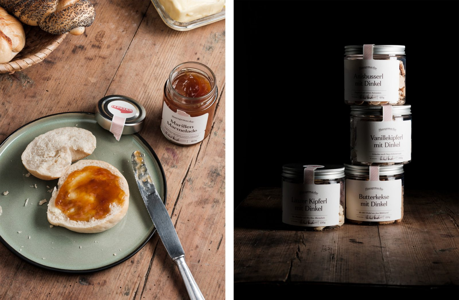 Honeder Rebranding by Gletscher Honors the Bakery's 125 Year History