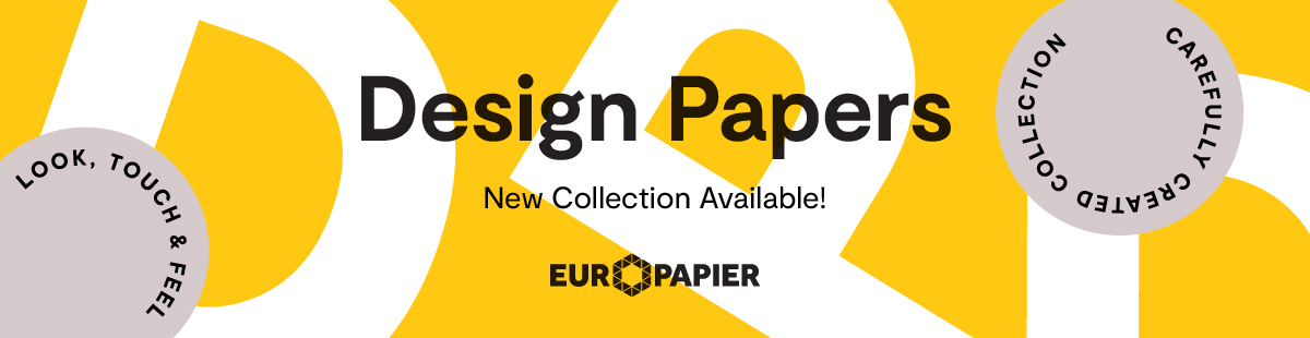 Europapier's New Design Papers Collection Has Arrived!