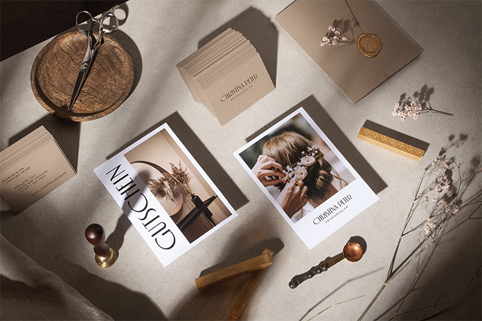 Luxurious Brand Identity for a Hairdressing Salon by Unifikat Design