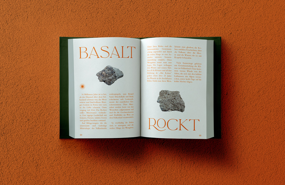 Eruptionswinzer Visual Identity Concept by Anna Haury Packs a Punch
