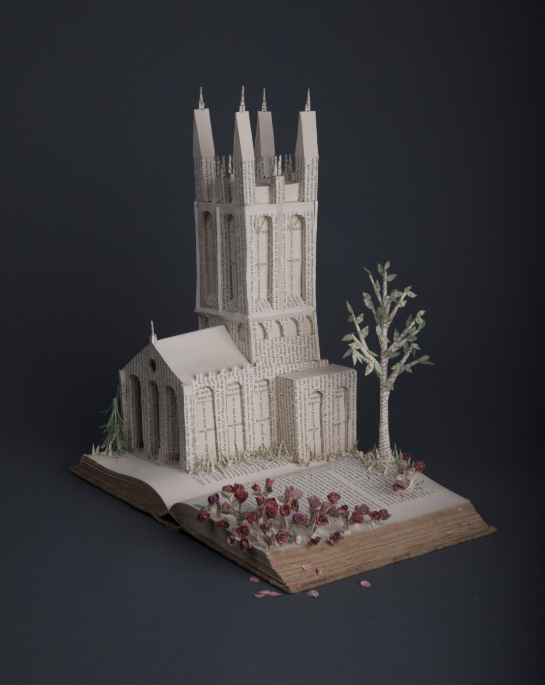 Bethany Bickley Brings the Book Pages Alive in Paper Sculpture Form