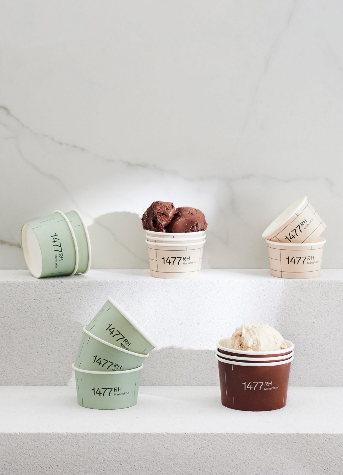 1477RH Delicatessen Visual Identity by Saskia Schmidt Is Inspired By Its Unique Architecture