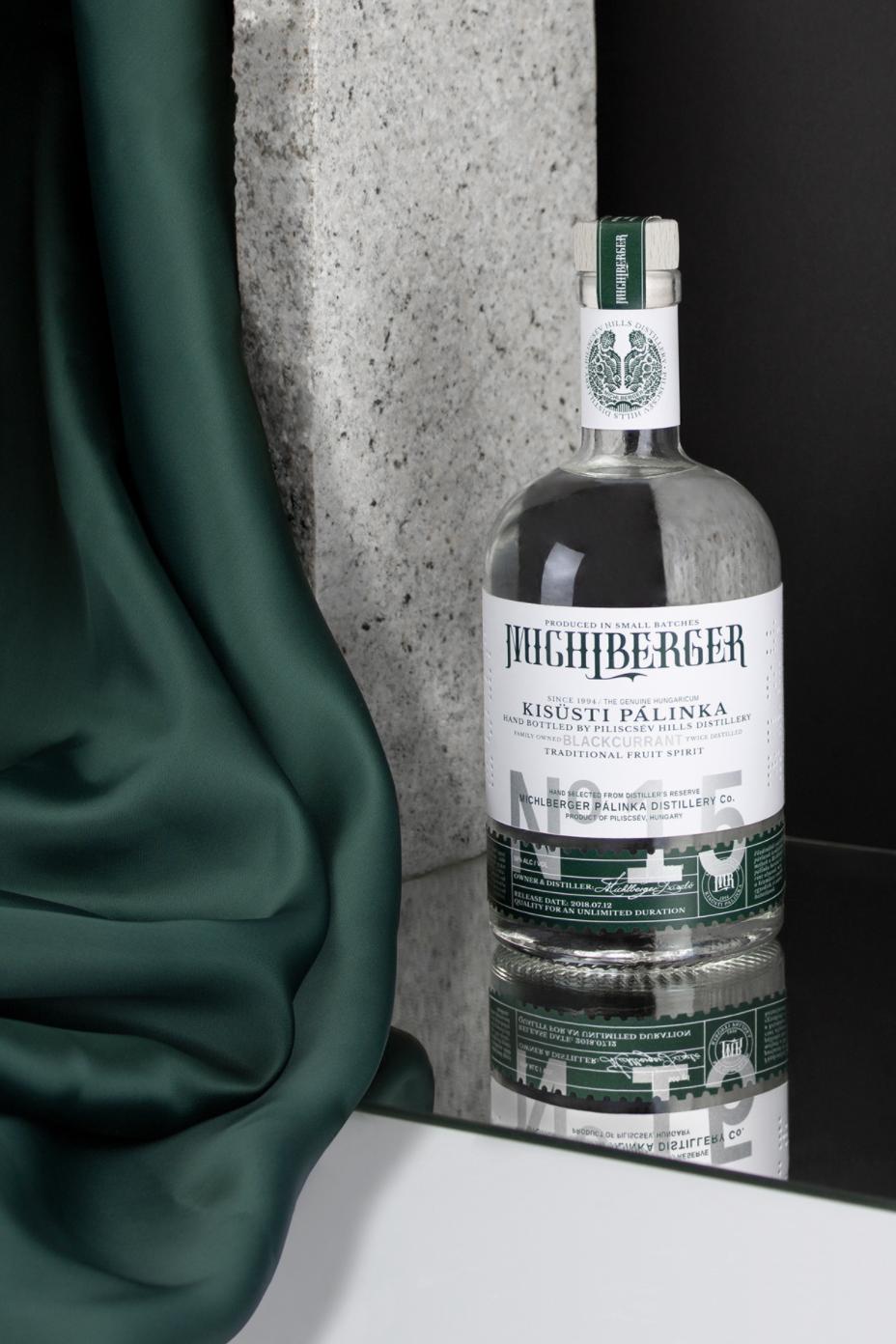 Michlberger Pálinka Rebranding by Kristof Balla Celebrates Hungarian Tradition