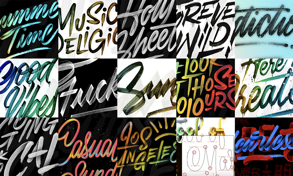 Ianis Soteras' aka Naniii's Flawless Lettering Designs