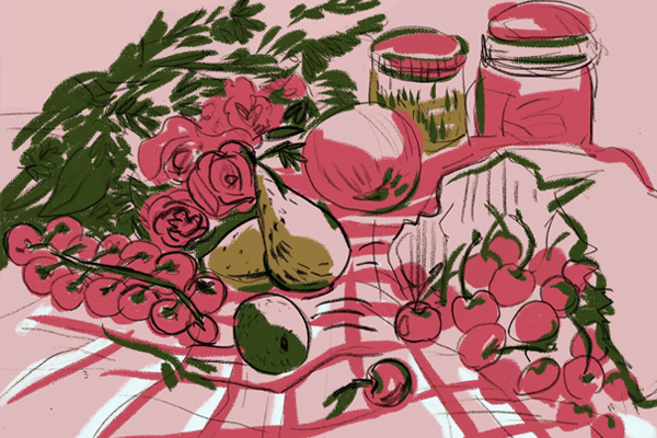 Illustrator Ola Sadownik Creates With Vibrant Colors and Organic Lines