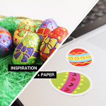 Inspiration + Paper = Yupo Tako Easter Stickers