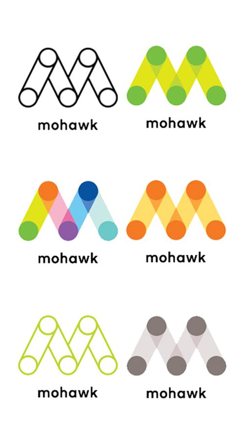 Mohawk logo variations 2