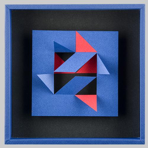 Novuk tridimensional paper art design and paper for Simple paper art design