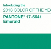 EMERALD – Pantone Color Of The Year 2013