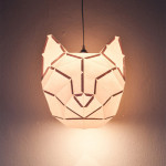 Rabbit and Friends – D.I.Y. Paper Lamps by mostlikely